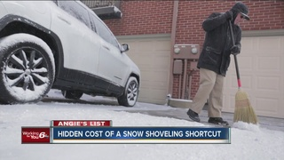 Angie's List: Hidden cost of shoveling shortcuts