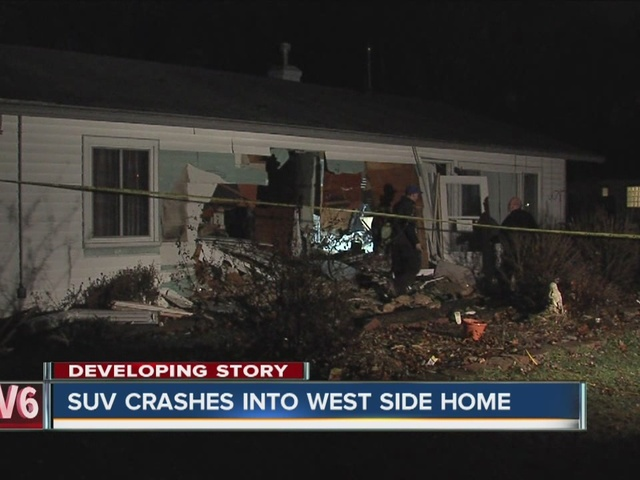 Homeowners speak on the vehicle crash into their home