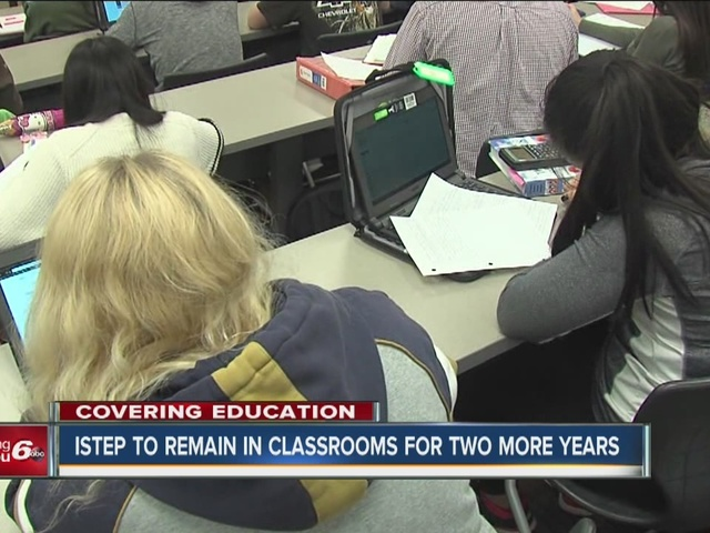 ISTEP to remain in classrooms for two more years