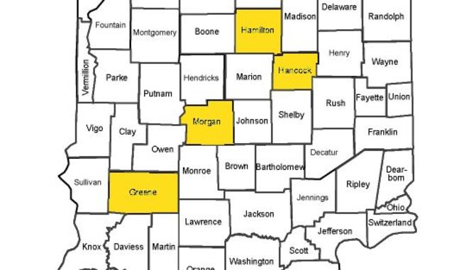 Travel Advisories issued across central Indiana until further – Indiana Travel Map