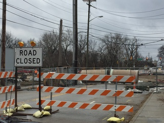 Central Ave bridge closed; here are detours