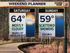 Very mild weekend ahead
