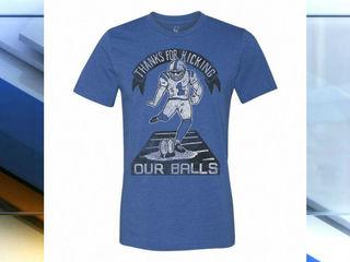 Local company sells Pat McAfee shirts