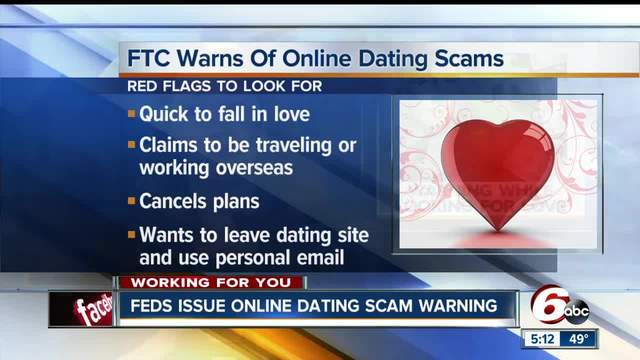 Ftc online dating scams