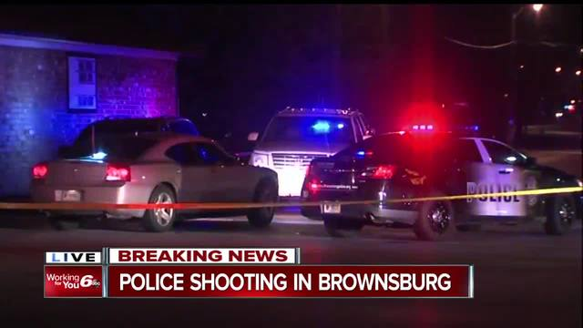 Authorities search for woman after officer-involved shooting in Brownsburg