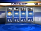 Fog Advisory, Record high possible today