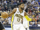 George gets back to work with Pacers