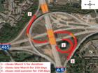 I-65 bridge construction closes ramps, lanes