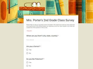 Take this adorable viral 2nd-grade class survey