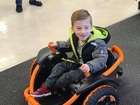 Wish granted for child with brittle bone disease
