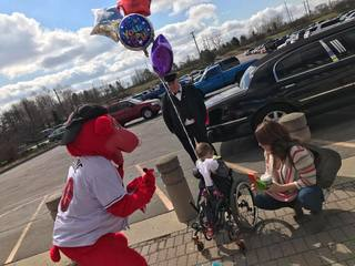 PHOTOS: Tollsyn Crandall's wish is granted
