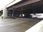 Trucking company cited after I-465 bridge crash
