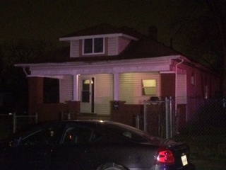 Two men shot on porch on Indy's northeast side