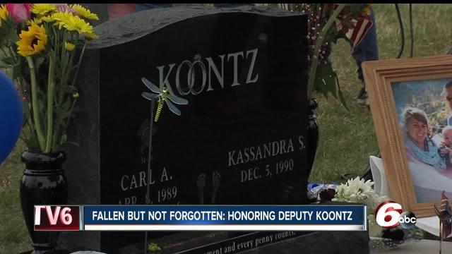 Hoosiers honor Howard County Deputy Carl Koontz one year