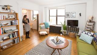 HOME TOUR: Mid-Century Bohemian apartment