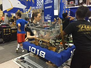 PICS: Students compete in robotics competition