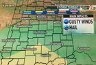 ALERT: A few severe storms possible Monday