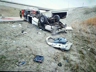 One person dead, one injured after I-465 crash
