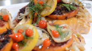 Recipe: Spring citrus salmon