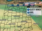 Dry today - Severe weather threat tomorrow