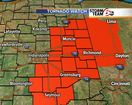 ALERT: Tornado Watch until 10pm for eastern Ind.