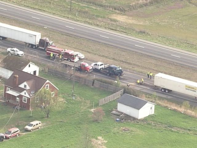I-65 reopens, south of Seymour, after deadly crash