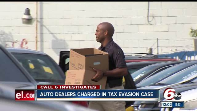 call 6 indianapolis auto dealers charged in tax evasion case. Black Bedroom Furniture Sets. Home Design Ideas