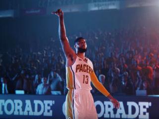WATCH: Paul George stars in new Gatorade ad