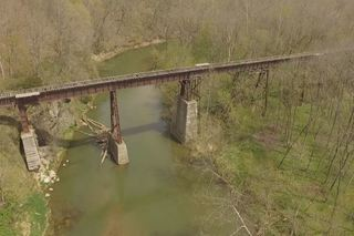 A 360 tour of the Monon High Bridge