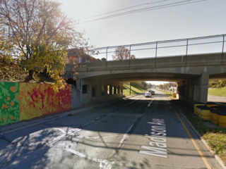 Cars again damaged by objects thrown off bridge