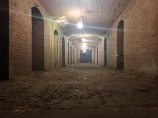 Explore creepy tunnels right under downtown Indy