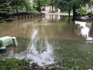 Flooding blocks access to homes in Henry County