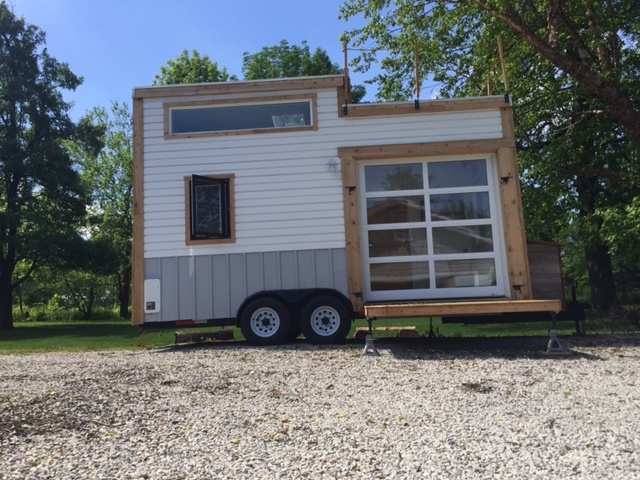 rent a tiny house in central indiana v1 news gallery