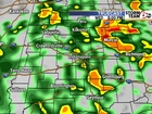 TIMELINE: Scattered storms throughout the day