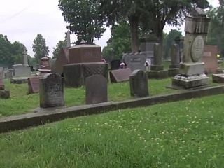 Vandals topple headstones at Franklin cemetery