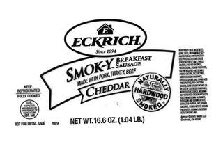 RECALL: 91K pounds of Eckrich sausage recalled