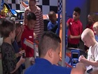 IndyCar drivers visit the Children's Museum
