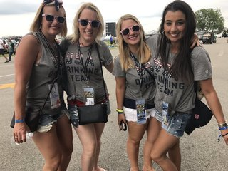 PHOTOS: Wearing red, white and blue at Carb Day