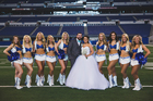 PICS: Colts fans marry at Lucas Oil Stadium