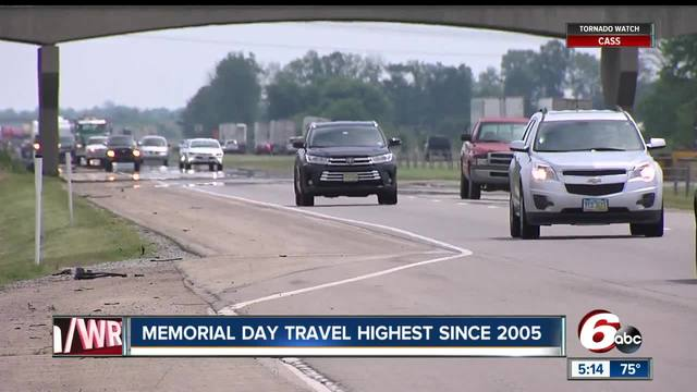 Jammed freeways, crowded airports, record travel misery for Memorial Day holiday