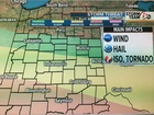 ALERT: Strong to severe storms possible tonight