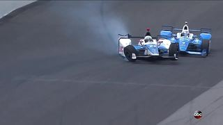Dixon, Howard walk away after nasty crash