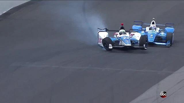 Scott Dixon Escapes Breathtaking Crash in Indy 500