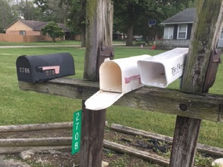 Explosives found in Anderson mailboxes
