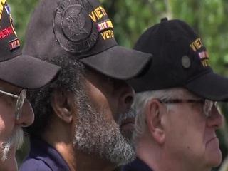 Vietnam War veterans honored at Crown Hill
