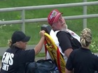 Photographer hit by crash debris at Indy 500