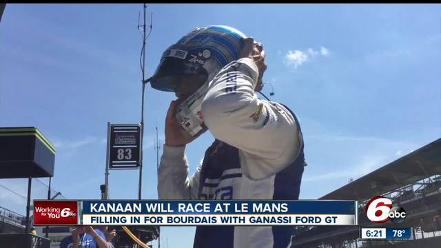 Kanaan replaces injured Bourdais for Ford at Le Mans