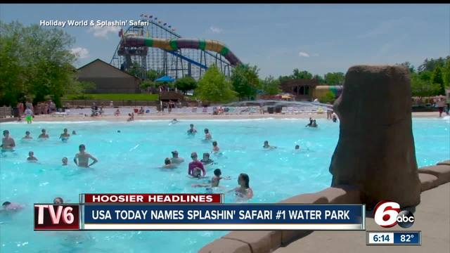 Holiday Worlds Splashin Safari Named Nations Best Water Park - The 14 best theme parks in the world