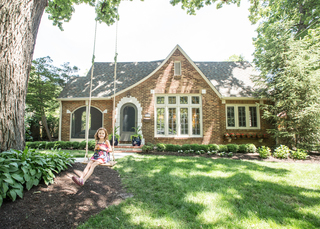 HOME TOUR: 4,800 sq ft Tudor in Forest Hills