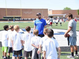 Colts' Luck visits kids in Ft. Wayne, Columbus
